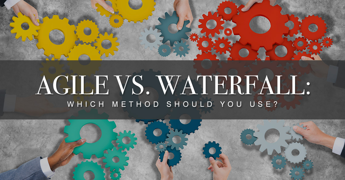 If agile is better why is adoption so low project for When to use agile vs waterfall